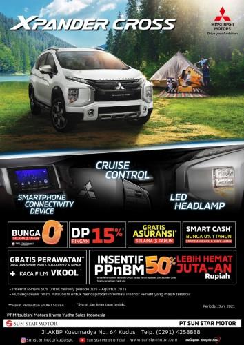 Promo Mitsubishi Xpander Cross Dp Ringan