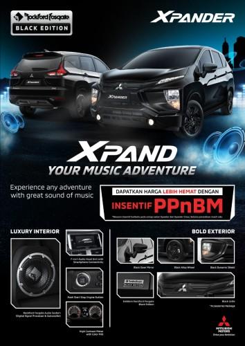 Promo Mitsubishi Xpander Black Edition Program ppnBM